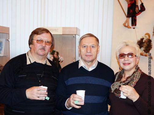 П.Большаков, А.Баскаков и С.Анищенко