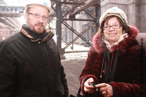Андрей Расторгуев и Нина Ягодинцева