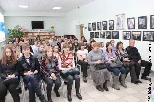 Встреча с писателями в библиотеке им.С.В.Михалкова