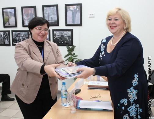 Г.А.Бубнова и В.Ю. Ерофеева-Тверская