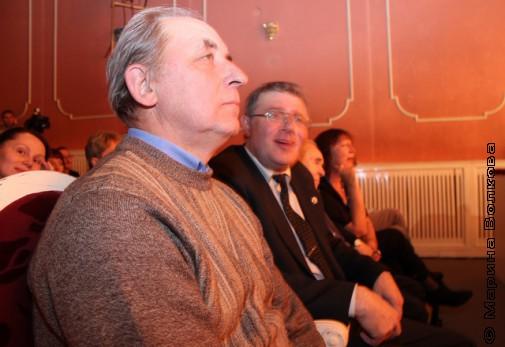 Г.В.Иванов и А.Б.Кердан во время церемонии