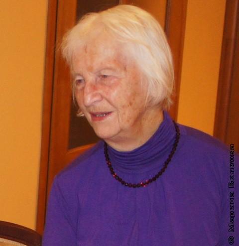 Елена Николаевна Алешко, октябрь 2011
