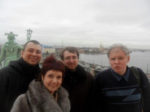 Андрей Сметанин, Нина Пикулева, Дмитрий Сиротин, Сергей Белорусц