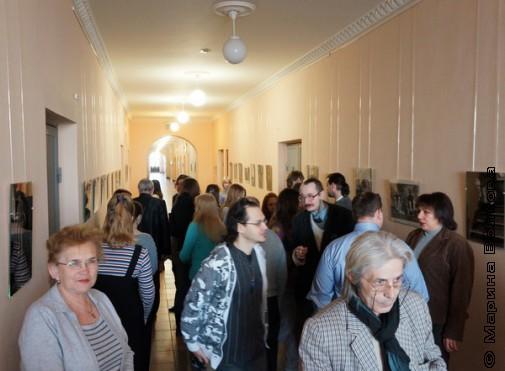 На выставке Сергея Новикова