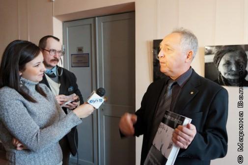 Пресса берет интервью у Сергея Новикова