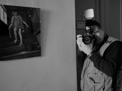 На фотовыставке Сергея Новикова