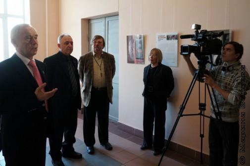Открытие фотовыставки - Герман Вяткин, Сергей Новиков, Павел Большаков, Наталья Кундикова
