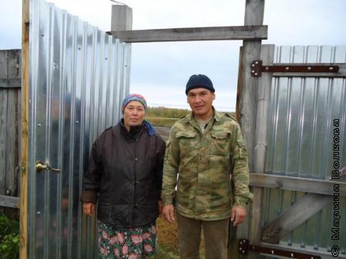 Жители деревни Арсланово