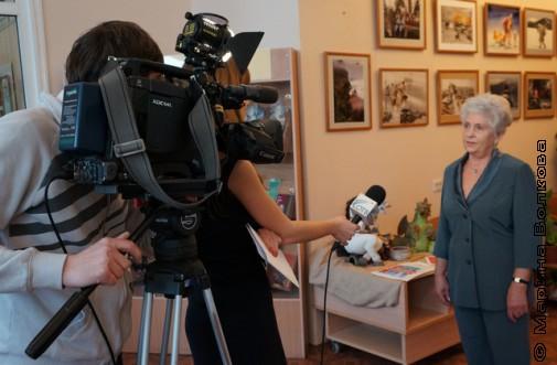 Интервью с Кирой  Теуш смотрите на Областном канале