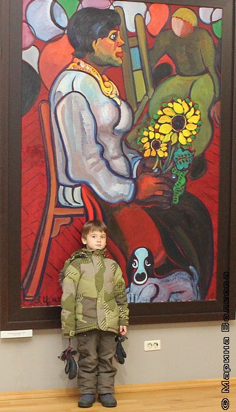 Зураб Церетели в Челябинске