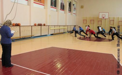 Урок физкультуры в 26-ой гимназии