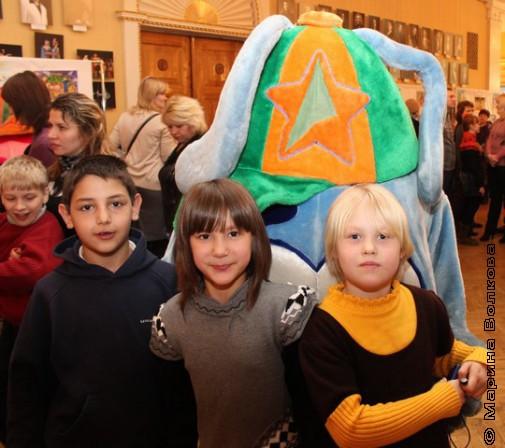Миша и его друзья из детского дома № 5