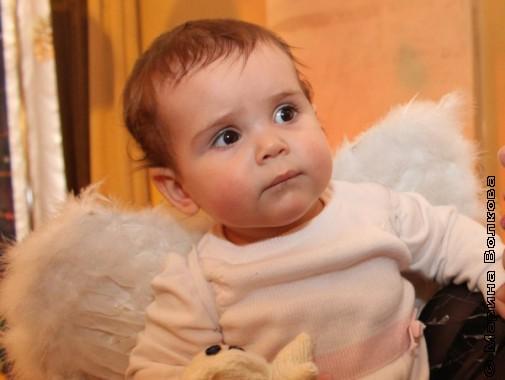 Маленький ангел Рождества