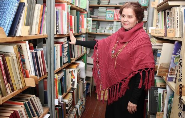 Ольга Ивановна Малякина, библиотекарь гимназии № 26, Миасс