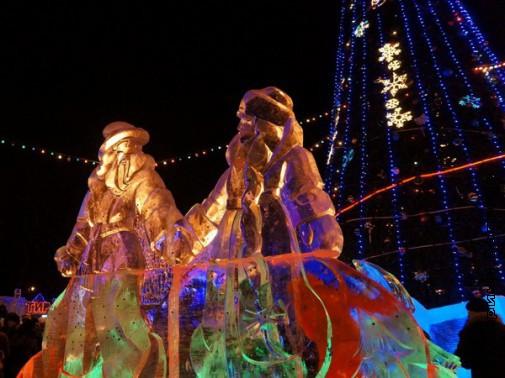 Главные Дед Мороз и Снегурочка