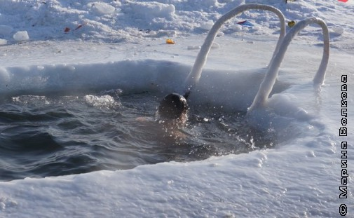 Крещенье в Челябинске