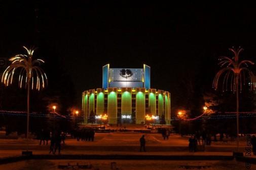 Драмтеатр под пальмами
