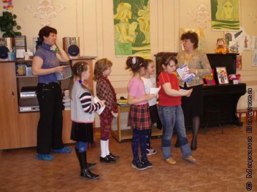 Дети и библиотекари