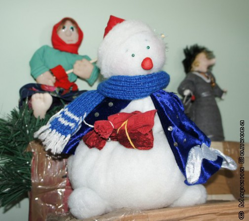 Самодельные игрушки к Рождеству