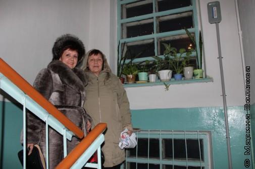 Нина Пикулева и Татьяна Александрова