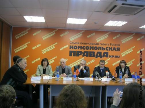 Пресс-конференция в КП