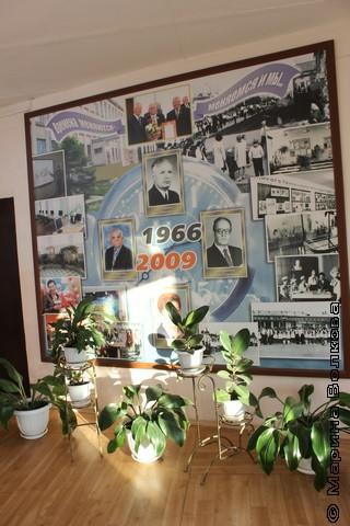 Стенд по истории школы