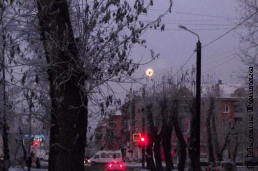 Лунное утро