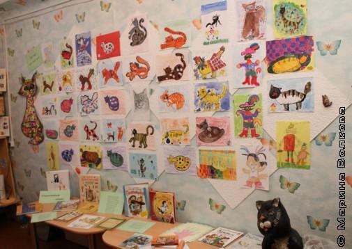 Выставка котов для Михаила Придворова