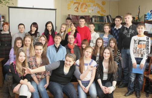 Фотография с поэтами