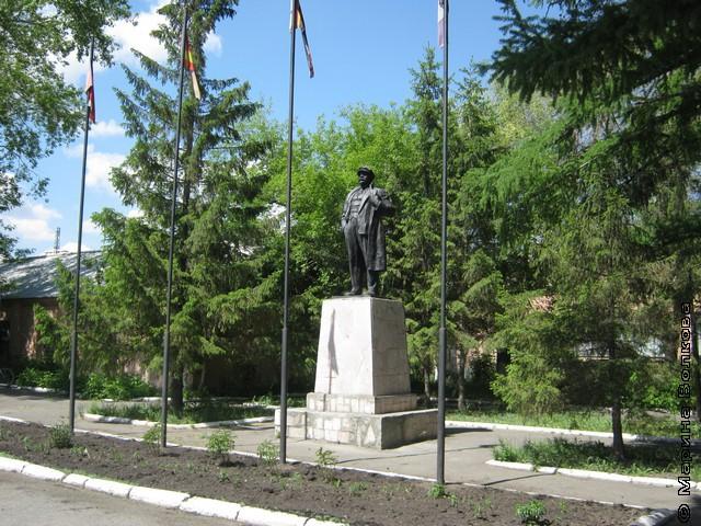 Шахтёрский Ленин