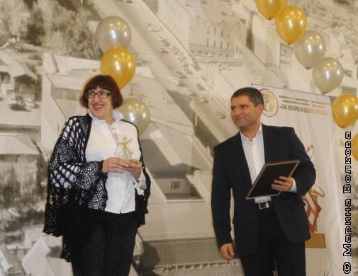 Марина Волкова и Денис Рыжий готовы вручать малые призы тем, кто вошёл в шорт-лист