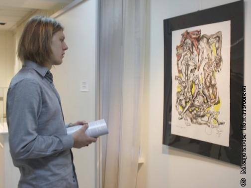 На выставке Эрнста Неизвестного в Екатеринбурге