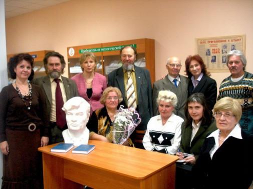 Вечер памяти П.М.Смычагина в библиотеке им. Мамина-Сибиряка