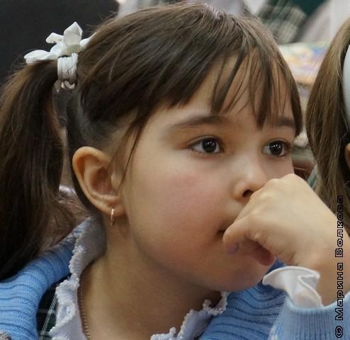 Дети слушают стихи очень внимательно
