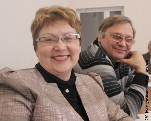 Татьяна Калинина и Юрий Зацепилин
