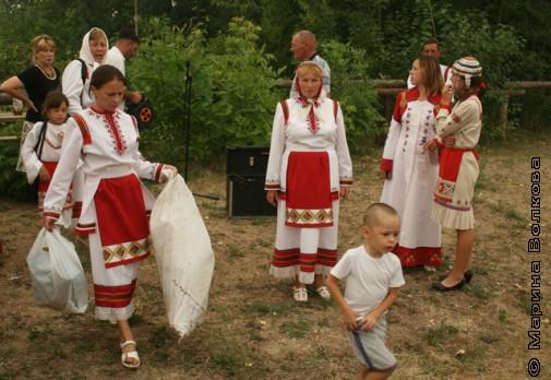 Абашевцы собираются домой