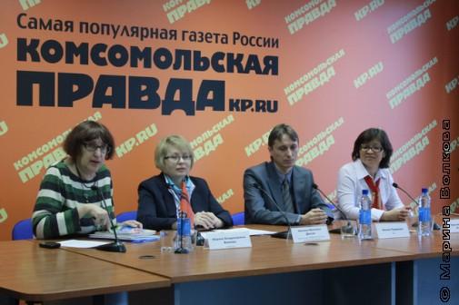 """Пресс-конференция по конкурса """"От 7 до 12"""""""
