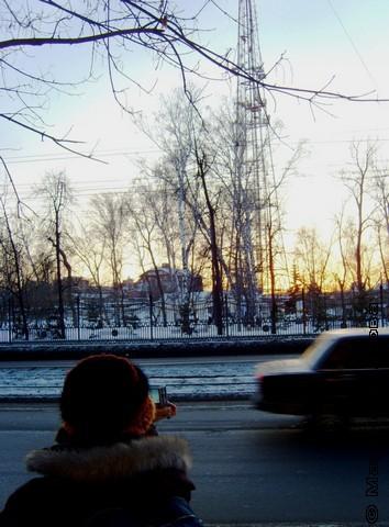 Последний снег - с Е.Извариной
