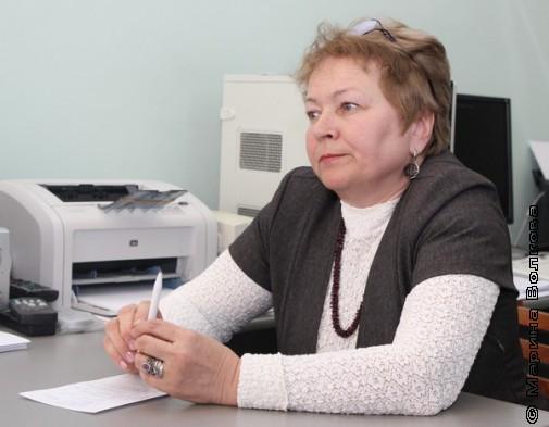 Людмила Владимировна Краснова, директор ОДБ им. Маяковского