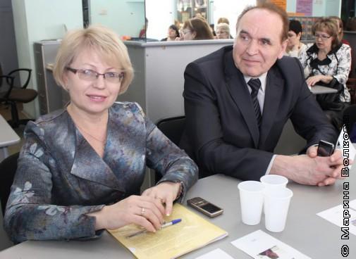 Наталья Диская и Вячеслав Скворцов