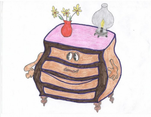 Рисунок Насти Ряжкиной, школа № 5