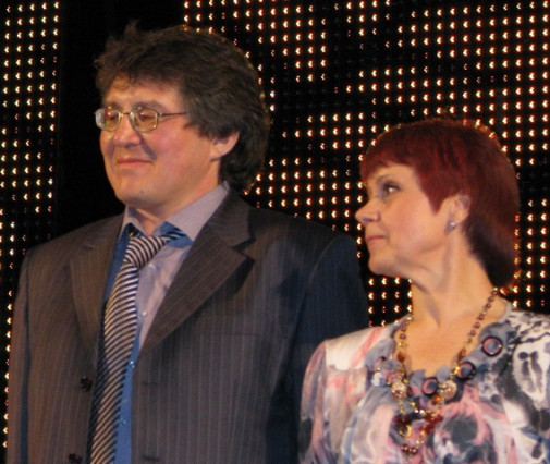 Гаяз Самигулов и Нина Пикулева