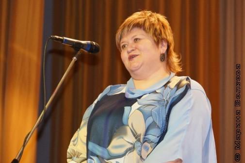 Елена Сыч на книжкином празднике в Копейске