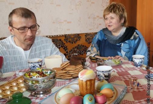 Янис Грантс и Елена Сыч в гостях у Татьяны Александровой