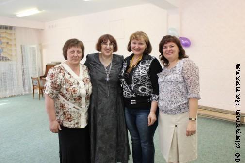 Татьяна Александрова, Марина Волкова, Наталья Крупина, Татьяна Бережная