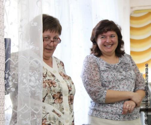 Татьяна Александрова и Татьяна Бережная
