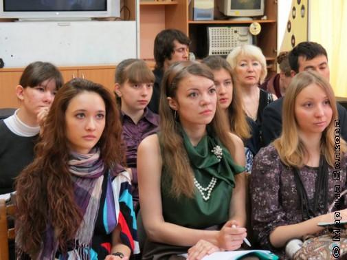 На лекции Т.Курбатовой
