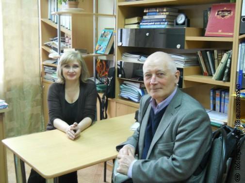 Руководители семинаров Татьяна Кондратова (Москва) и Владимир Курбатов