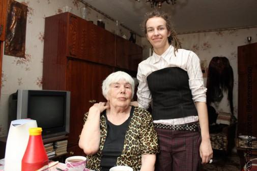 Валентина Григорьевна Куцик и Анна Волкова
