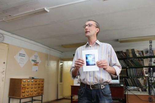 Янис Грантс с книгой Юлии Дегтярёвой